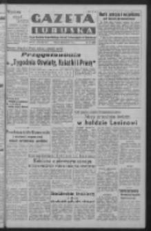Gazeta Lubuska : organ Komitetu Wojewódzkiego Polskiej Zjednoczonej Partii Robotniczej R. III Nr 113 (25 kwietnia 1950). - Wyd. ABCDEFG