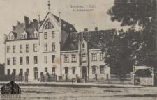 Zielona Góra / Grünberg; St. Johannisstift; Dom Sióstr Elżbietanek