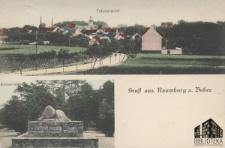 Nowogród Bobrzański / Naumburg a. Bober; Gruss aus Naumburg a. Bober; Pozdrowienia z Nowogrodu Bobrz.