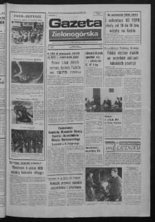Gazeta Zielonogórska : organ KW Polskiej Zjednoczonej Partii Robotniczej R. XXIV Nr 7 (9 stycznia 1975). - Wyd. A