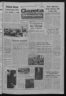 Gazeta Zielonogórska : organ KW Polskiej Zjednoczonej Partii Robotniczej R. XXIV Nr 8 (10 stycznia 1975). - Wyd. A