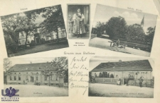 Białków / Balkow; Gruss aus Balkow