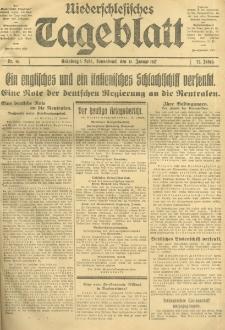 Niederschlesisches Tageblatt, no 10 (Sonnabend, den 13. Januar 1917)