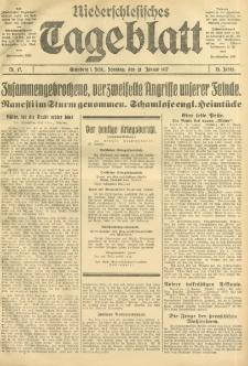 Niederschlesisches Tageblatt, no 17 (Sonntag, den 21. Januar 1917)