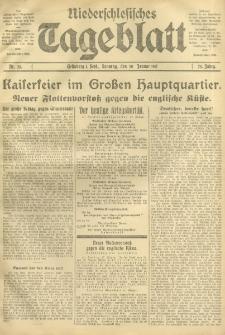 Niederschlesisches Tageblatt, no 23 (Sonntag, den 28, Januar 1917)