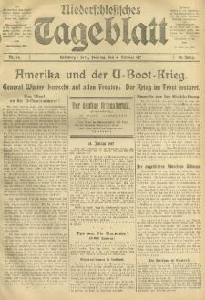 Niederschlesisches Tageblatt, no 29 (Sonntag, den 4. Februar 1917)