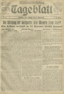 Niederschlesisches Tageblatt, no 41 (Sonntag, den 18. Februar 1917)