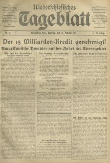 Niederschlesisches Tageblatt, no 47 (Sonntag, den 25. Februar 1917)