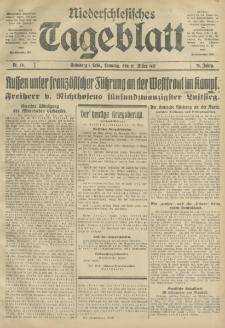 Niederschlesisches Tageblatt, no 59 (Sonntag, den 11. März 1917)