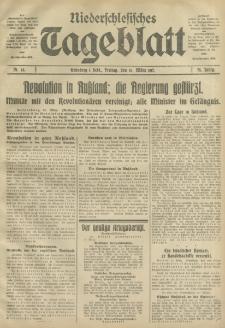 Niederschlesisches Tageblatt, no 63 (Freitag, den 16. März 1917)