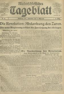 Niederschlesisches Tageblatt, no 64 (Sonnabend, den 17. März 1917)