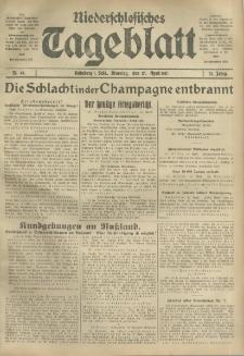 Niederschlesisches Tageblatt, no 88 (Dienstag, den 17. April 1917)