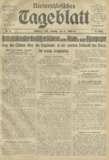 Niederschlesisches Tageblatt, no 93 (Sonntag, den 22. April 1917)