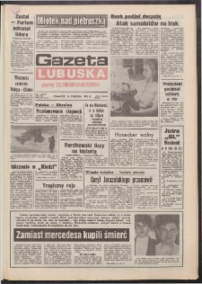Gazeta Lubuska : dawniej Zielonogórska-Gorzowska R. XLI [właśc. XLII], nr 11 (14 stycznia 1993). - Wyd. 1