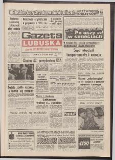 Gazeta Lubuska : dawniej Zielonogórska-Gorzowska R. XLI [właśc. XLII], nr 17 (21 stycznia 1993). - Wyd. 1