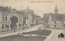 Sulechów / Züllichau; Blick in die Windelstrasse