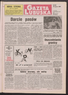 Gazeta Lubuska R. XLV [właśc. XLVI], nr 8 (10 stycznia 1997). - Wyd. 1
