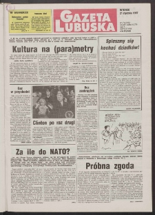 Gazeta Lubuska R. XLV [właśc. XLVI], nr 17 (21 stycznia 1997). - Wyd. 1