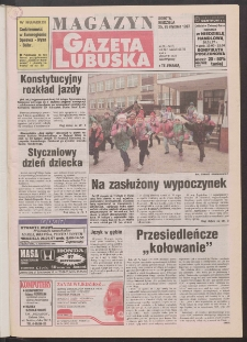 Gazeta Lubuska : magazyn R. XLV [właśc. XLVI], nr 21 (25/26 stycznia 1997). - Wyd. 1