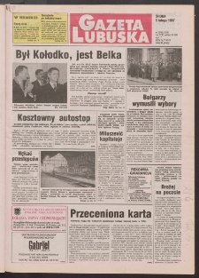 Gazeta Lubuska R. XLV [właśc. XLVI], nr 30 (5 lutego 1997). - Wyd. 1