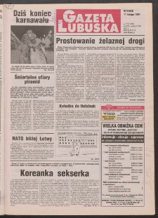 Gazeta Lubuska R. XLV [właśc. XLVI], nr 35 (11 lutego 1997). - Wyd. 1