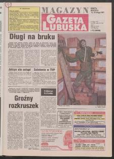 Gazeta Lubuska : magazyn R. XLV [właśc. XLVI], nr 39 (15/16 lutego 1997). - Wyd. 1