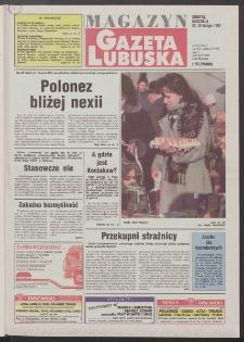 Gazeta Lubuska : magazyn R. XLV [właśc. XLVI], nr 45 (22/23 lutego 1997). - Wyd. 1