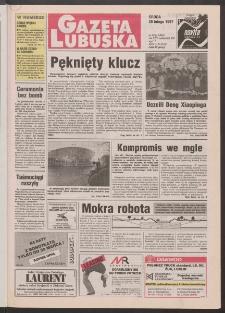 Gazeta Lubuska R. XLV [właśc. XLVI], nr 48 (26 lutego 1997). - Wyd. 1