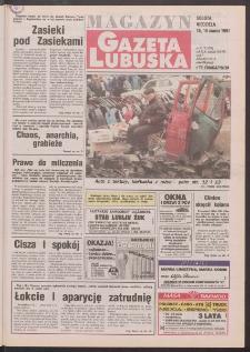 Gazeta Lubuska : magazyn R. XLV [właśc. XLVI], nr 63 (15/16 marca 1997). - Wyd. 1