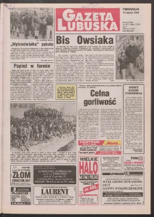 Gazeta Lubuska R. XLV [właśc. XLVI], nr 64 (17 marca 1997). - Wyd. 1