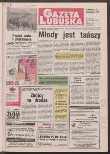 Gazeta Lubuska R. XLV [właśc. XLVI], nr 87 (14 kwietnia 1997). - Wyd. 1