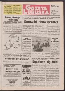 Gazeta Lubuska R. XLV [właśc. XLVI], nr 94 (22 kwietnia 1997). - Wyd. 1