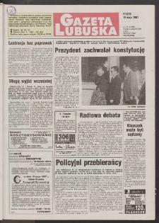 Gazeta Lubuska R. XLV [właśc. XLVI], nr 113 (16 maja 1997). - Wyd. 1