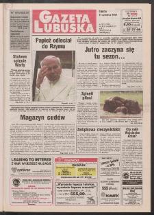 Gazeta Lubuska R. XLV [właśc. XLVI], nr 134 (11 czerwca 1997). - Wyd. 1