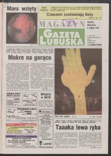 Gazeta Lubuska : magazyn R. XLV [właśc. XLVI], nr 155 (5/6 lipca 1997). - Wyd. 1