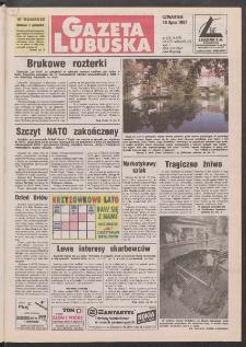 Gazeta Lubuska R. XLV [właśc. XLVI], nr 159 (10 lipca 1997). - Wyd. 1