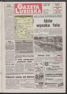 Gazeta Lubuska R. XLV [właśc. XLVI], nr 162 (14 lipca 1997). - Wyd. 1