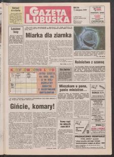Gazeta Lubuska R. XLV [właśc. XLVI], nr 188 (13 sierpnia 1997). - Wyd. 1