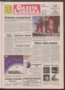 Gazeta Lubuska R. XLV [właśc. XLVI], nr 192 (19 sierpnia 1997). - Wyd. 1