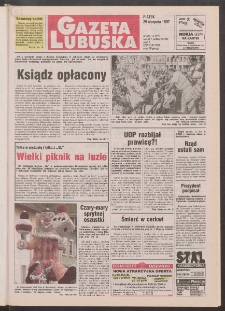 Gazeta Lubuska R. XLV [właśc. XLVI], nr 201 (29 sierpnia 1997). - Wyd. 1