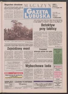 Gazeta Lubuska : magazyn R. XLV [właśc. XLVI], nr 202 (30/31 sierpnia 1997). - Wyd. 1