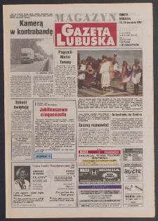 Gazeta Lubuska : magazyn R. XLV [właśc. XLVI], nr 214 (13/14 września 1997). - Wyd. 1