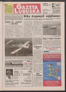 Gazeta Lubuska R. XLVI, nr 218 (18 września 1997). - Wyd. 1