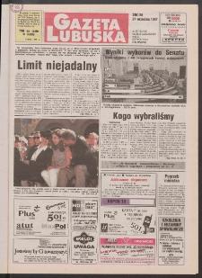 Gazeta Lubuska R. XLVI, nr 223 (24 września 1997). - Wyd. 1