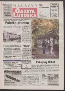 Gazeta Lubuska : magazyn R. XLV [właśc. XLVI], nr 238 (11/12 października 1997). - Wyd. 1