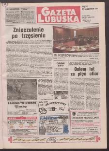 Gazeta Lubuska R. XLVI, nr 249 (24 października 1997). - Wyd. 1