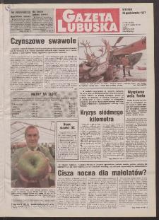 Gazeta Lubuska R. XLVI, nr 252 (28 października 1997). - Wyd. 1