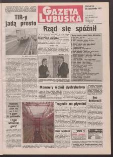 Gazeta Lubuska R. XLVI, nr 254 (30 października 1997). - Wyd. 1