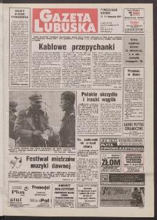 Gazeta Lubuska R. XLVI, nr 262 (10/11 listopada 1997). - Wyd. 1