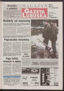 Gazeta Lubuska : magazyn R. XLVI, nr 266 (15/16 listopada 1997). - Wyd. 1
